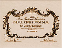 View the 2003 Paul Revere Award winners at the MPA website.